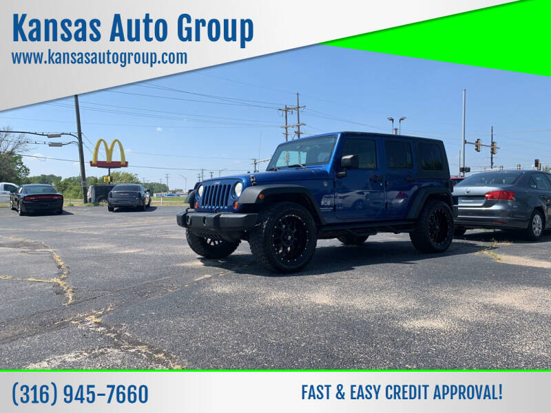 2009 Jeep Wrangler Unlimited for sale at Kansas Auto Group in Wichita KS