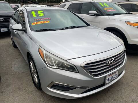 2015 Hyundai Sonata for sale at CAR GENERATION CENTER, INC. in Los Angeles CA
