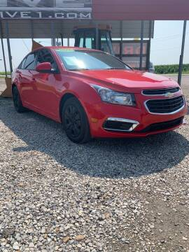 2016 Chevrolet Cruze Limited for sale at Drive in Leachville AR