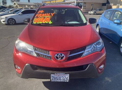 2014 Toyota RAV4 for sale at Global Auto Group in Fontana CA