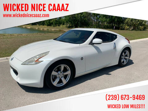 2012 Nissan 370Z for sale at WICKED NICE CAAAZ in Cape Coral FL