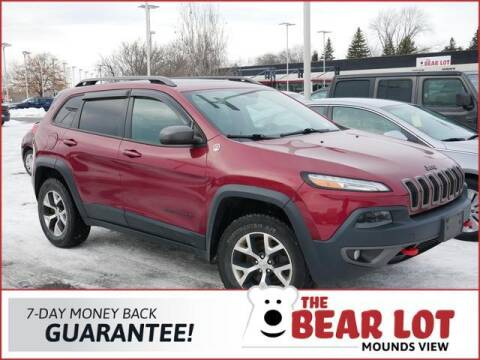 2015 Jeep Cherokee for sale at Rydell Auto Outlet in Mounds View MN