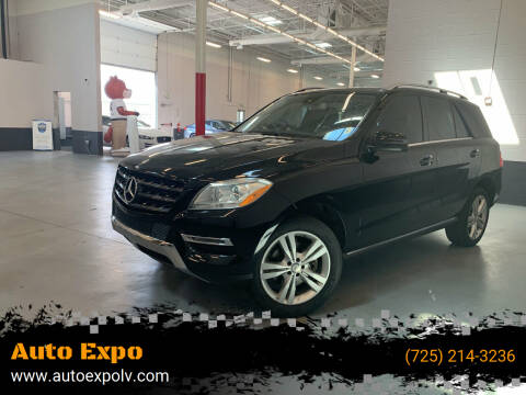 2013 Mercedes-Benz M-Class for sale at Auto Expo in Las Vegas NV