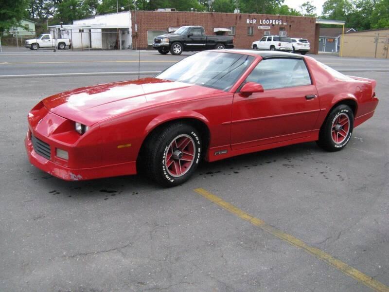 1989 Chevrolet Camaro for sale at MOUNTAIN CITY MOTORS INC in Dalton GA