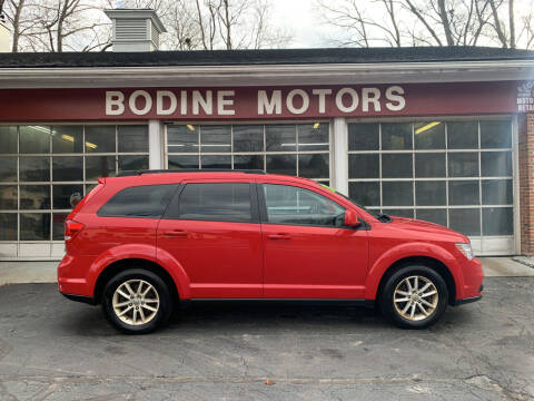 2013 Dodge Journey for sale at BODINE MOTORS in Waverly NY
