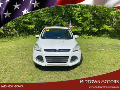 2016 Ford Escape for sale at Midtown Motors in Greenbrier TN