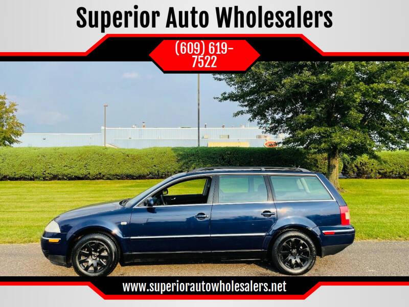2003 Volkswagen Passat for sale at Superior Auto Wholesalers in Burlington NJ