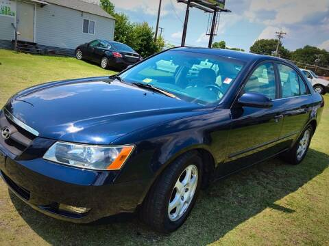 2006 Hyundai Sonata for sale at Cutiva Cars in Gastonia NC