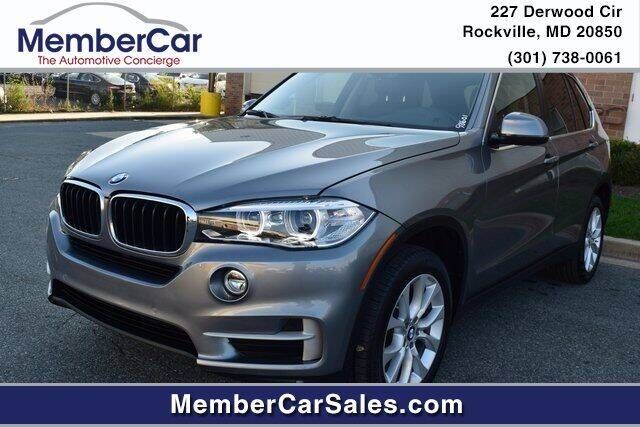 2016 BMW X5 for sale at MemberCar in Rockville MD