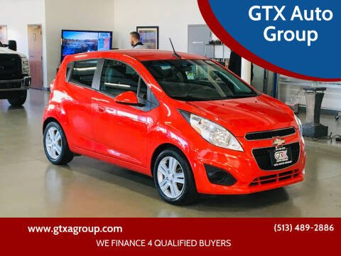 2013 Chevrolet Spark for sale at GTX Auto Group in West Chester OH