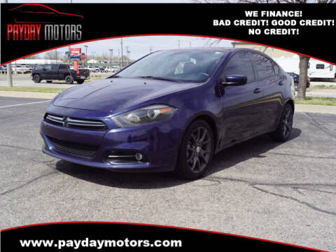 2015 Dodge Dart for sale at Payday Motors in Wichita And Topeka KS
