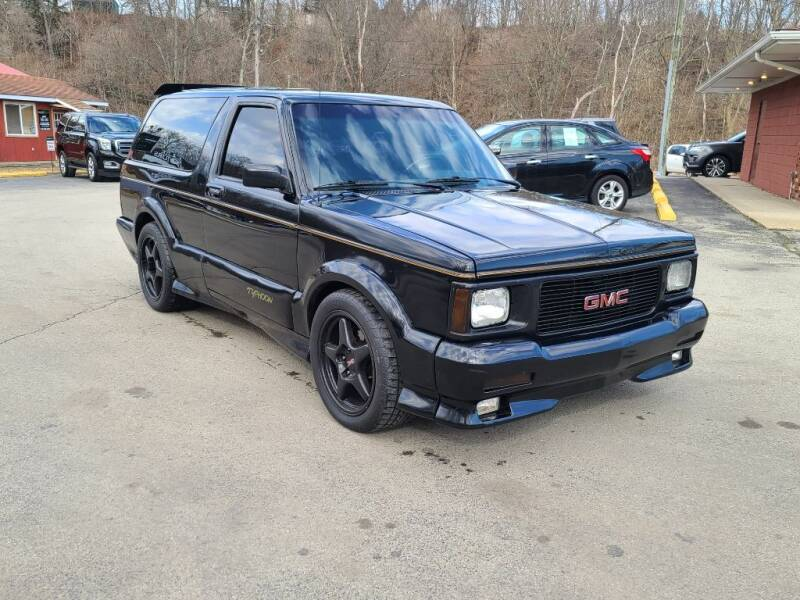 1993 GMC Typhoon for sale at Elite Motors in Uniontown PA