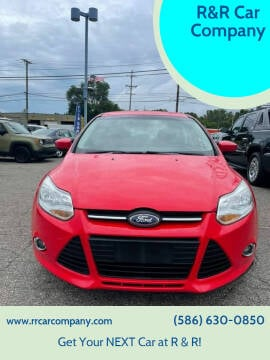 2012 Ford Focus for sale at R&R Car Company in Mount Clemens MI