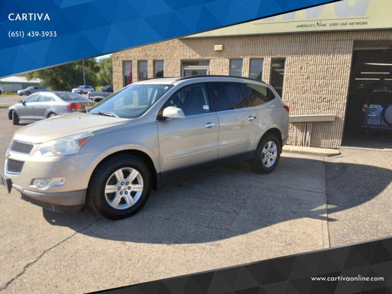 2012 Chevrolet Traverse for sale at CARTIVA in Stillwater MN