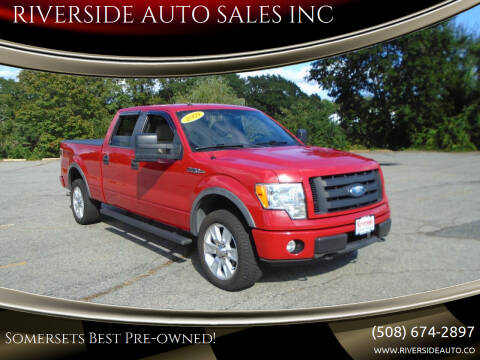 2009 Ford F-150 for sale at RIVERSIDE AUTO SALES INC in Somerset MA