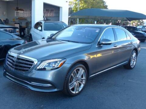 2018 Mercedes-Benz S-Class for sale at Lifetime Automotive Group in Pompano Beach FL