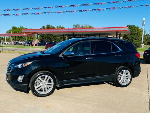 2018 Chevrolet Equinox for sale at Pioneer Auto in Ponca City OK