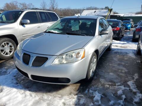 2009 Pontiac G6 for sale at ASAP AUTO SALES in Muskegon MI