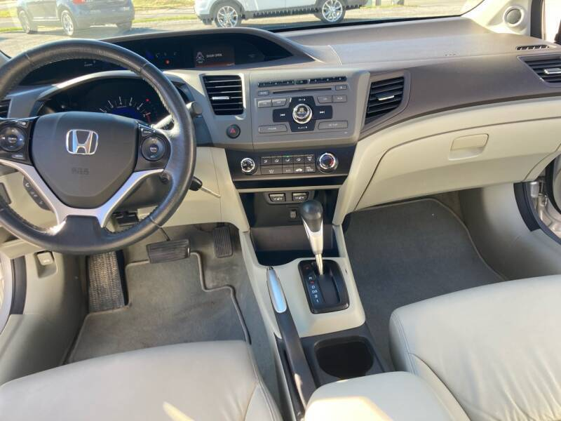 2012 Honda Civic EX-L 4dr Sedan - Merrillville IN