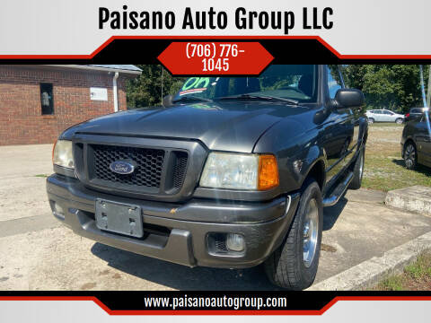 2004 Ford Ranger for sale at Paisano Auto Group LLC in Cornelia GA