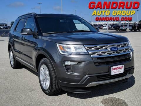 2018 Ford Explorer for sale at Gandrud Dodge in Green Bay WI
