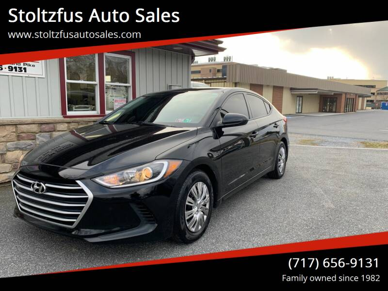 2017 Hyundai Elantra for sale at Stoltzfus Auto Sales in Lancaster PA