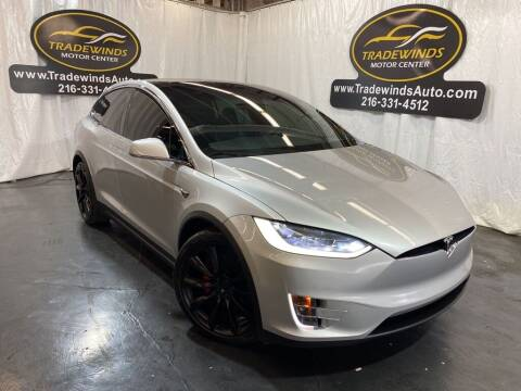 2018 Tesla Model X for sale at TRADEWINDS MOTOR CENTER LLC in Cleveland OH