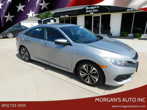 2016 Honda Civic for sale at Morgan's Auto Inc in Paoli IN