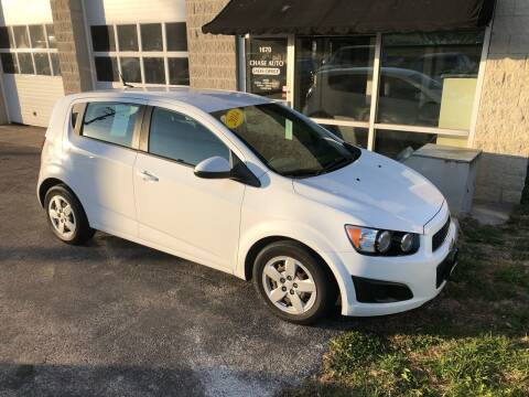 2014 Chevrolet Sonic for sale at Cresthill Auto Sales Enterprises LTD in Crest Hill IL