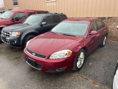 2008 Chevrolet Impala for sale at Randys Auto Sales in Gardner MA