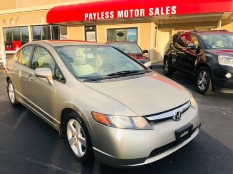 2008 Honda Civic for sale at Payless Motor Sales LLC in Burlington NC