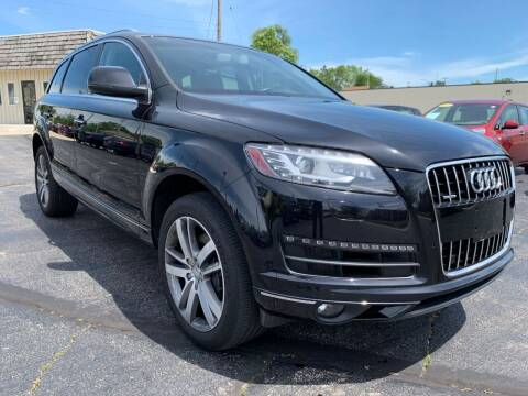 2015 Audi Q7 for sale at Auto Gallery LLC in Burlington WI