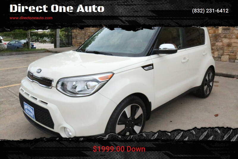 2015 Kia Soul for sale at Direct One Auto in Houston TX