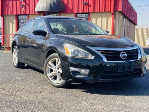 2013 Nissan Altima for sale at MAGNA CUM LAUDE AUTO COMPANY in Lubbock TX