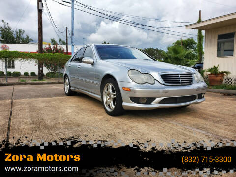 2002 Mercedes-Benz C-Class for sale at Zora Motors in Houston TX