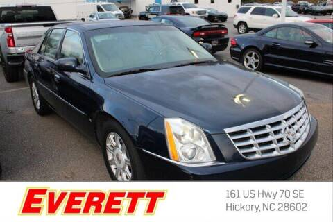 2008 Cadillac DTS for sale at Everett Chevrolet Buick GMC in Hickory NC
