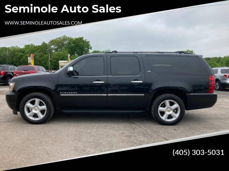 2010 Chevrolet Suburban for sale at Seminole Auto Sales in Seminole OK
