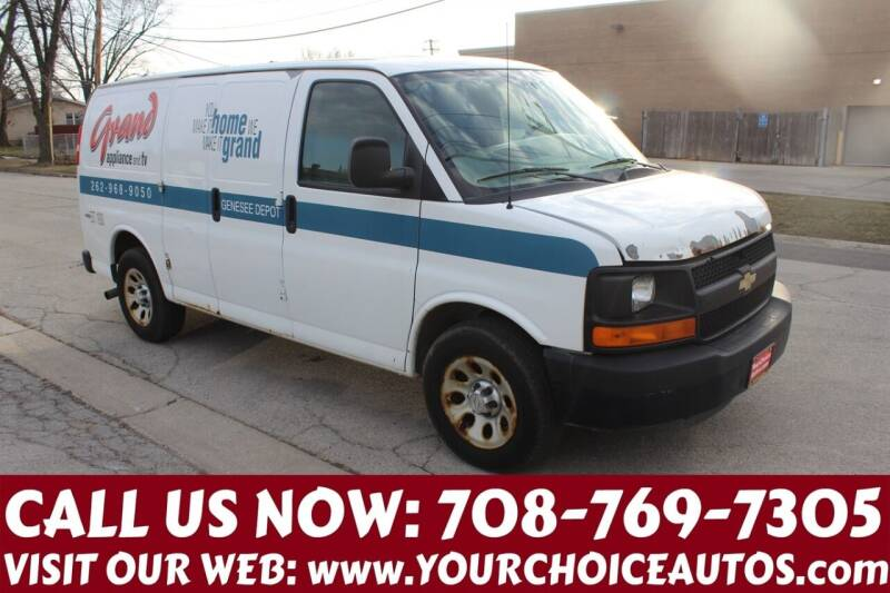 2010 Chevrolet Express Cargo for sale at Your Choice Autos in Posen IL
