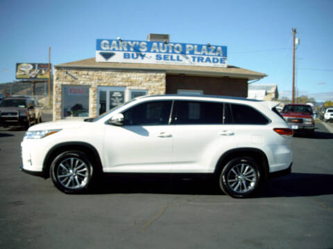 2019 Toyota Highlander for sale at GARY'S AUTO PLAZA in Helena MT