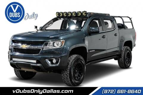 2017 Chevrolet Colorado for sale at VDUBS ONLY in Dallas TX