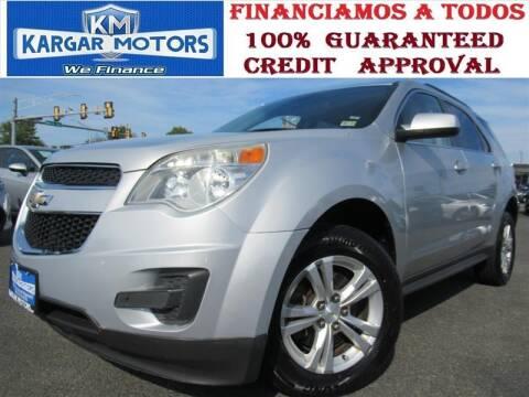 2015 Chevrolet Equinox for sale at Kargar Motors of Manassas in Manassas VA