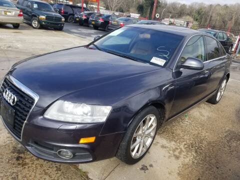 2011 Audi A6 for sale at Palmer Automobile Sales in Decatur GA