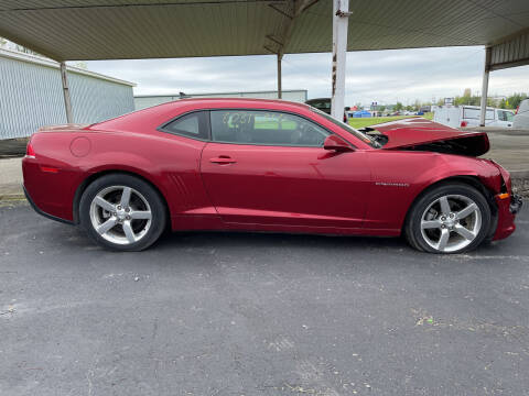 2015 Chevrolet Camaro for sale at B & W Auto in Campbellsville KY