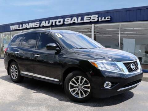 2014 Nissan Pathfinder for sale at Williams Auto Sales, LLC in Cookeville TN