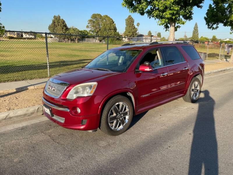 2011 GMC Acadia for sale at PACIFIC AUTOMOBILE in Costa Mesa CA
