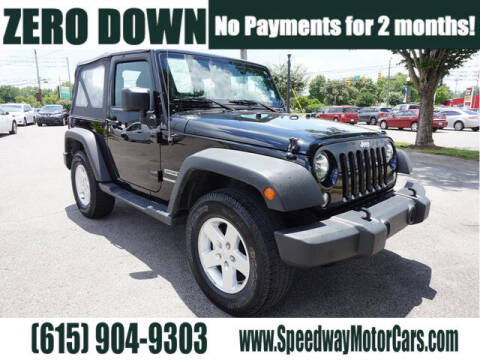 2017 Jeep Wrangler for sale at Speedway Motors in Murfreesboro TN