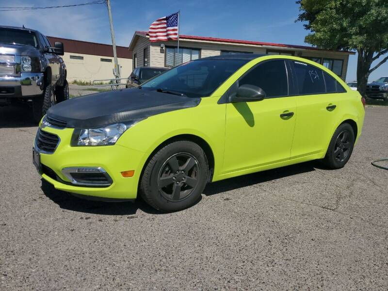 2016 Chevrolet Cruze Limited for sale at Revolution Auto Group in Idaho Falls ID
