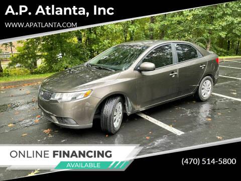 2011 Kia Forte for sale at A.P. Atlanta, Inc in Sandy Springs GA