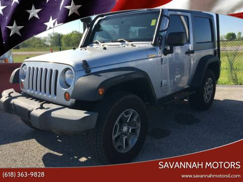 2010 Jeep Wrangler for sale at Savannah Motors in Cahokia IL