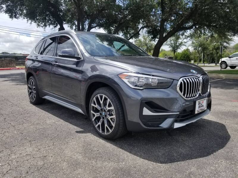 2021 BMW X1 for sale at ON THE MOVE INC in Boerne TX